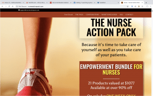 The Nurse Action Pack