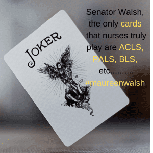 The only cards that nurses play